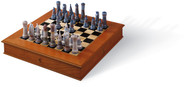 LLADRO MEDIEVAL CHESS SET (01006333 / 6333