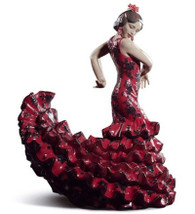 LLADRO FLAMENCO FLAIR (RED) (01008765 / 8765)