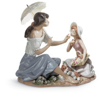 LLADRO AS PRETTY AS A FLOWER (01006910 / 6910)