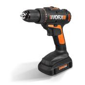 WORX 20V Cordless Drill & Driver + 1 Battery