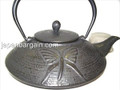 Black Dragonfly Cast Iron Teapot 30oz
