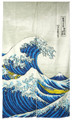 Noren Doorway Curtain Great Wave 33x59in
