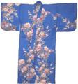 Japanese Women's Yukata Robe w/ Peony