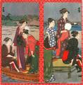 Japanese Geisha Paper Wallet Bi-Fold #05
