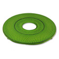 Hobnail Cast Iron Teapot Trivet Lime Green