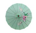 Light Green Oriental Parasol 32in