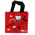 Sanrio Hello Kitty Nonwoven Tote Bag Red Color