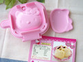 Sanrio Hello Kitty Microwave Waffle / Pie / Pancake Maker Mold