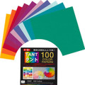 100 Sheets Japanese Tant Color Origami Paper 3 Inches 100 Colors #2572