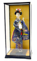 Glass Doll Display Case 11.5 w x 9.75 d x 17.5 Inches