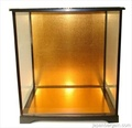 Glass Doll Display Case 8.25x6.25x12.75inch