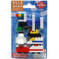 Iwako Japanese Erasers Building Block Transportation Set