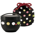 Japanese Bento Bowl 2 Tier Temari Rabbit 19oz