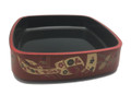 Plastic Sushi Oke Serving Tray 11.5-inch Square