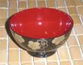 Plastic Lacquer Rice Bowl w/ Sakura