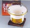 Portable Yakitori Clay Stove Round