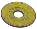 Hobnail Cast Iron Teapot Trivet Lime Yellow