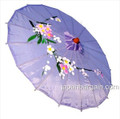 Lavender Oriental Parasol 32in