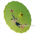 Lime Asian Parasol 22in