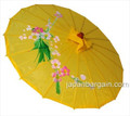 Yellow Asian Parasol 22in