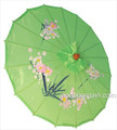 Green Oriental Parasol 32in
