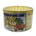 Bamboo Steamer Two Tiers 12in