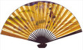Large Japanese Wall Fan Geisha 30in