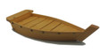 Bamboo Sushi Boat Serving Tray 16.5in