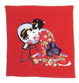 Japanese Furoshiki Gift Wrapping Cloth #P1869-R