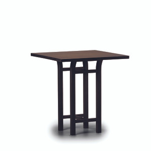 Tulip 36  Counter Height Table   Black WalnutFurniture   Dining   Bar Tables   Bonnee Bamboo. Sienna Collection Black Counter Dining Table. Home Design Ideas