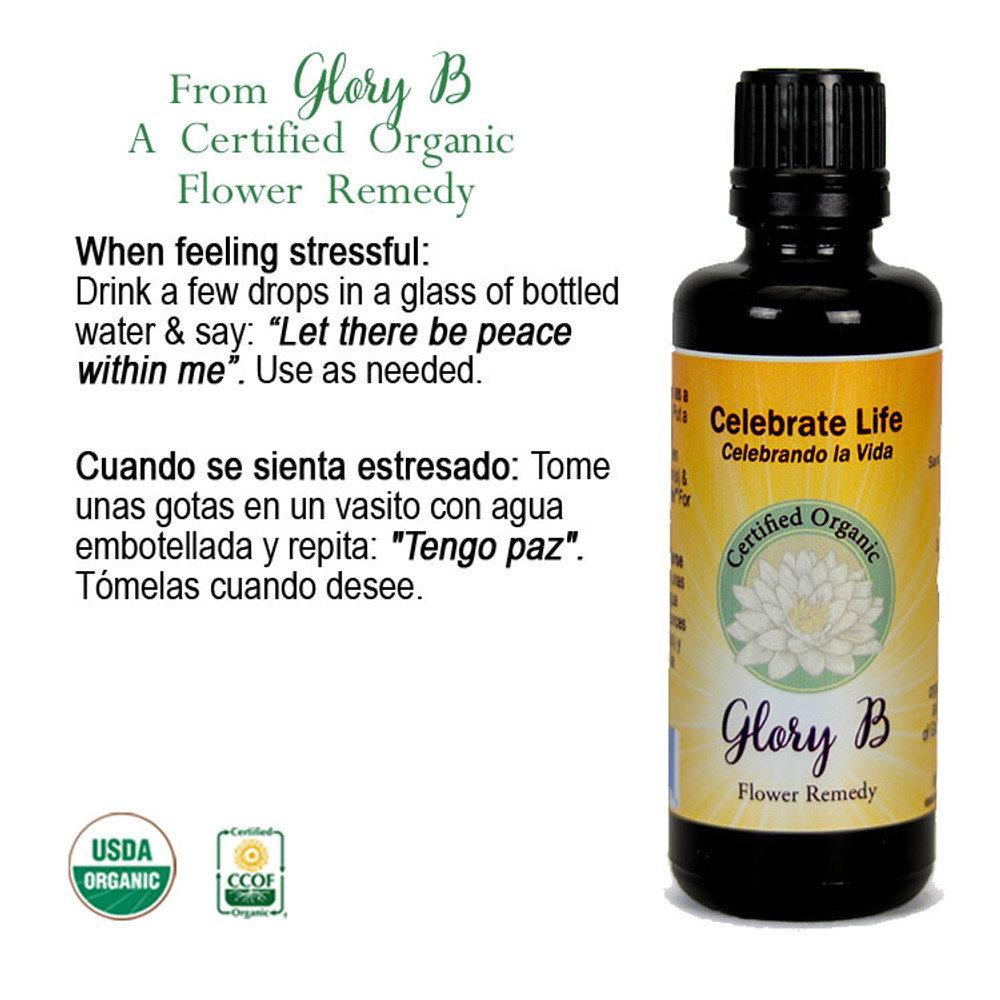 CELEBRATE LIFE Organic Flower Essence Blend