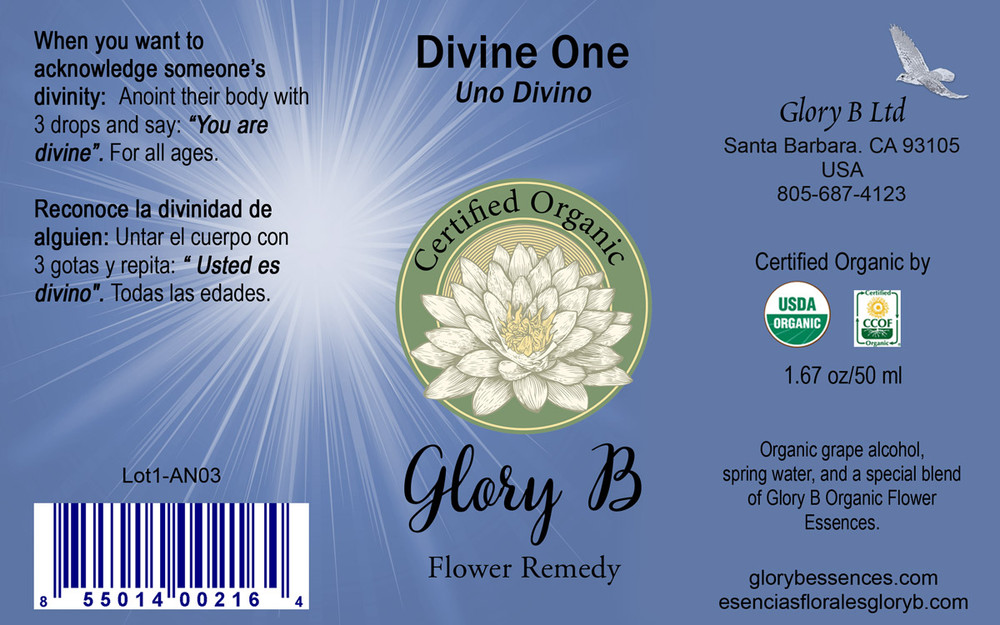 DIVINE ONE Flower Remedy