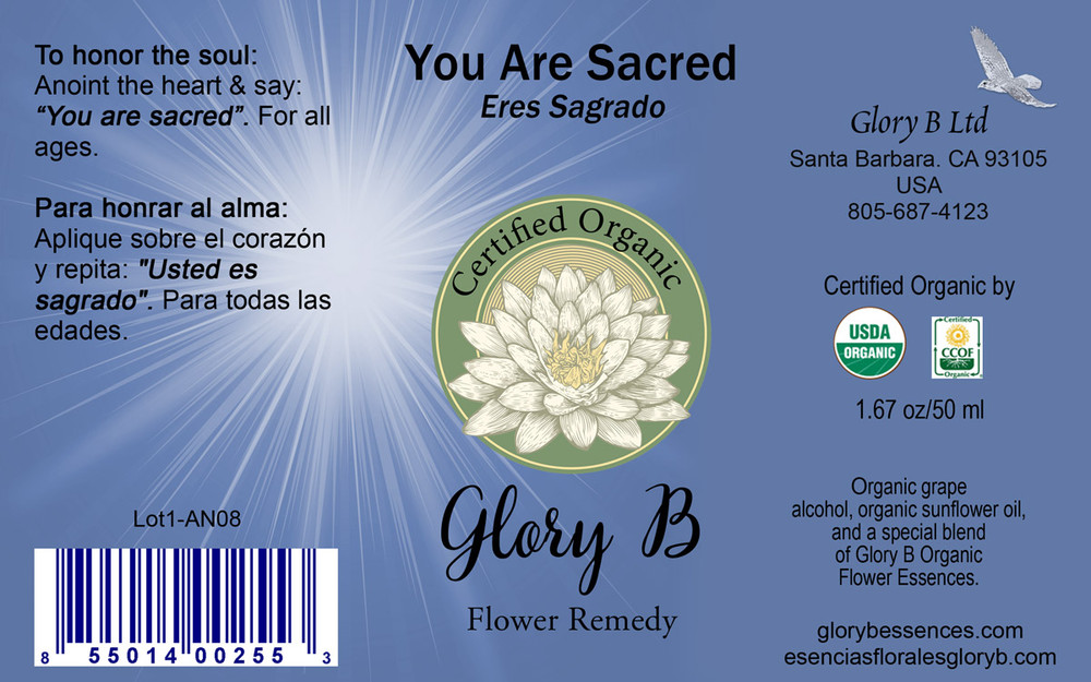 YOU ARE SACRED Flower Remedy