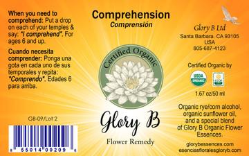 COMPREHENSION Organic Flower Remedy
