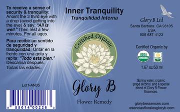INNER TRANQUILITY Flower Remedy