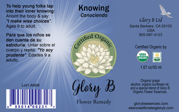 KNOWING Flower Remedy