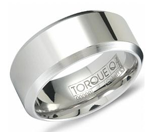 cb 2133 torque cobalt wedding ring - Cobalt Wedding Rings