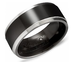 cbb 2030 torque black cobalt wedding ring 9mm - Cobalt Wedding Rings