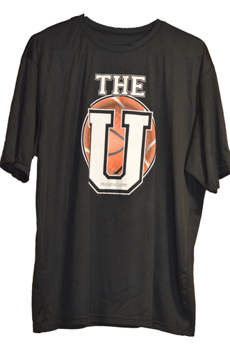 """Hoops U. """"All It Takes"""" Performance Tee (Front)"""