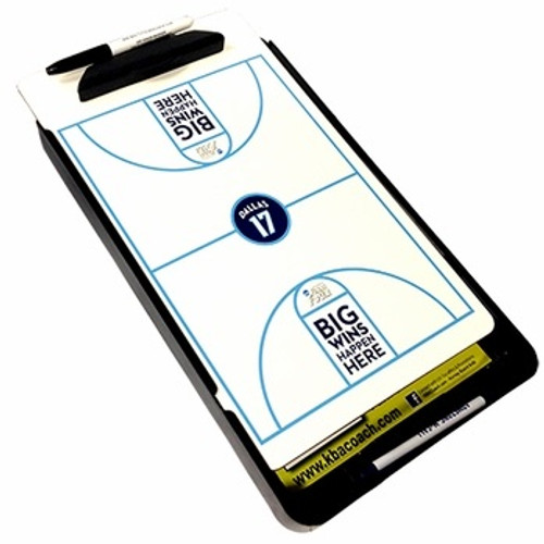 Custom Basketball Dry Erase Marker Board with Case