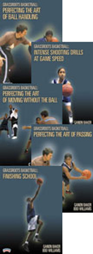 Grassroots Basketball Series 5-Pack DVD: Ganon Baker & Boo Williams