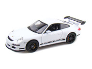 Porsche 911 ( 997 ) GT3 RS White 1/18 Scale Diecast Car Model By Welly 18015