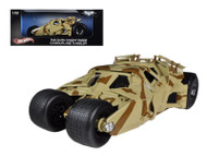 The Dark Knight Rises Batmobile Tumbler Camouflage 1/18 Scale Diecast Car Model By Hot Wheels BCJ76