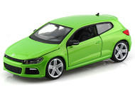 Bburago 1/24 Scale VW Volkswagen Scirocco R Green Diecast Car Model 21060