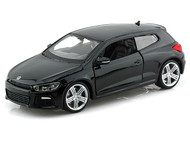 Bburago 1/24 Scale VW Volkswagen Scirocco R Black Diecast Car Model 21060