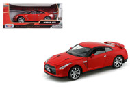 Nissan GTR Red 1/24 Scale Diecast Car Model By Motor Max 73384