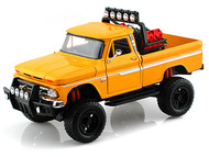 1966 Chevrolet C10 Fleetside Pickup Truck Off Road Yellow Diecast Model 79131