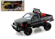 1992 Chevrolet 454 SS Pickup Truck Off Road Black 1/24 Scale Diecast Model By Motor Max 79134