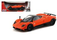 Pagani Zonda F Orange 1/18 Scale Diecast Car Model BY Motor Max 79159