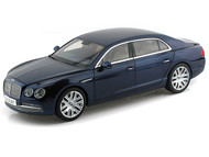 Kyosho 1/18 Scale Bentley Flying Spur W12 Peacock Blue Diecast Car Model 08891
